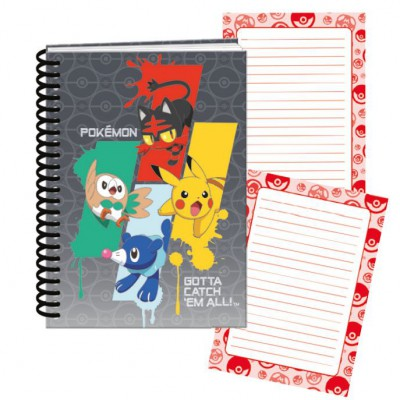 Bloco de Notas A5 Pokemon