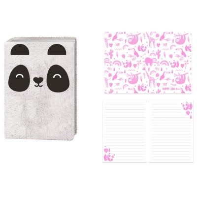 Bloco Panda Plush Just Hanging