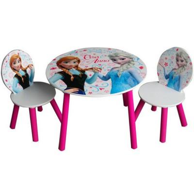 Conjunto de 2 Cadeiras e Mesa Frozen
