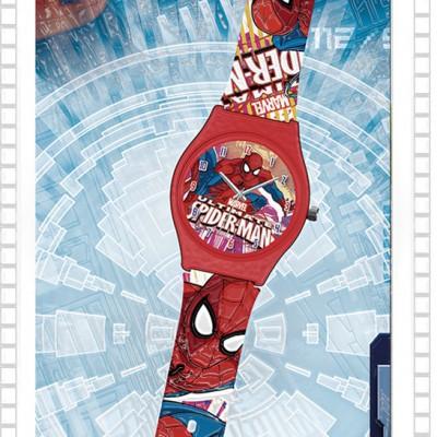 Relógio Analógico Homem Aranha