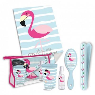 Conjunto de Acessórios de Viagem Flamingo