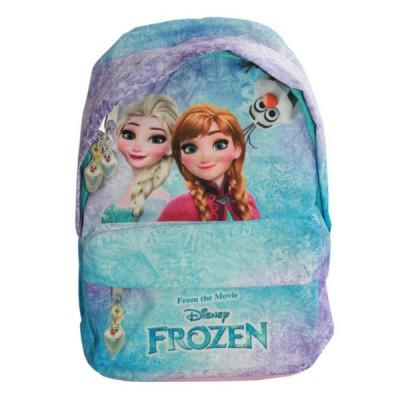 Mini Mochila com Bolso Frozen