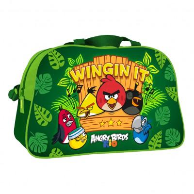 Saco de Desporto Angry Birds Green