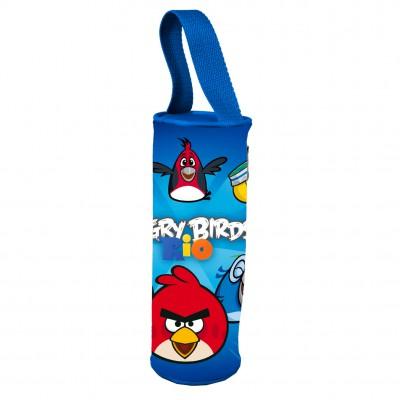 Estojo com Pega Angry Birds Blue