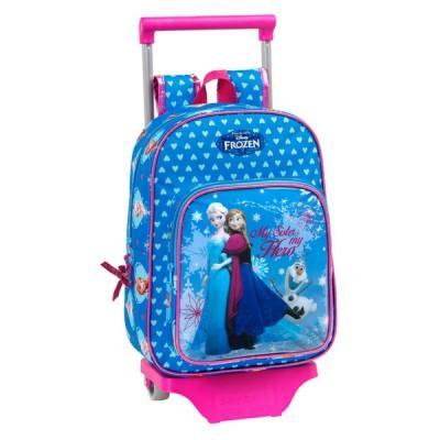 Mochila Infantil com Rodas Frozen