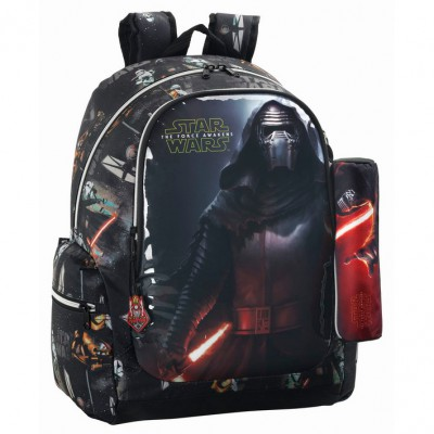 Mochila com Estojo D.Vader Star Wars Vii