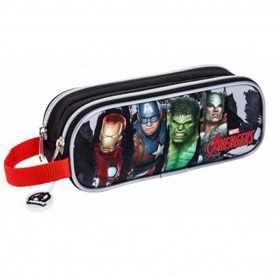 Estojo Duplo Avengers