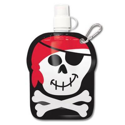Garrafa de Plástico Pirata