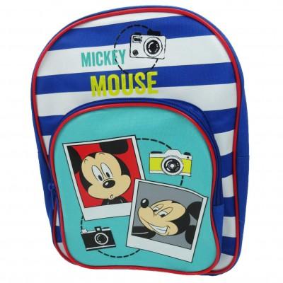 Mochila de Infantário de 2 Bolsas Mickey
